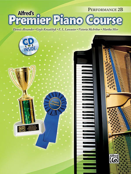 View larger image of Premier Piano Course 2B - Performance w/CD