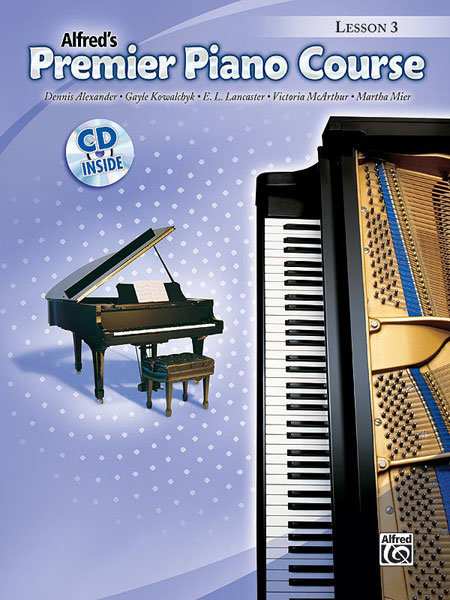 View larger image of Premier Piano Course 3 - Lesson w/CD