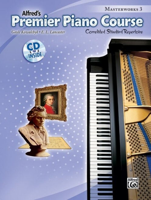 View larger image of Premier Piano Course 3 - Masterworks w/CD
