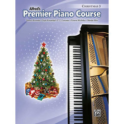 Premier Piano Course 3 - Christmas
