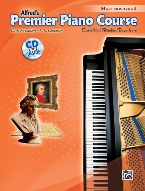 View larger image of Premier Piano Course 4 - Masterworks w/CD