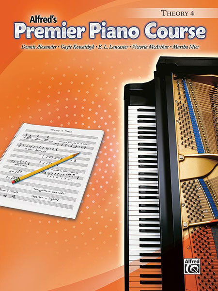 View larger image of Premier Piano Course 4 - Theory