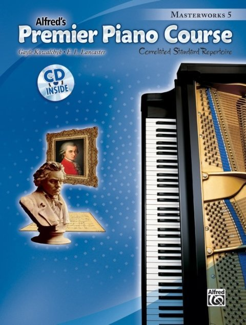View larger image of Premier Piano Course 5 - Masterworks w/CD