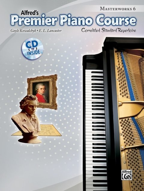 View larger image of Premier Piano Course 6 - Masterworks w/CD