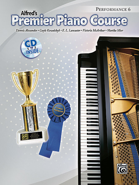 View larger image of Premier Piano Course 6 - Performance w/CD