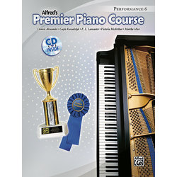 Premier Piano Course 6 - Performance w/CD