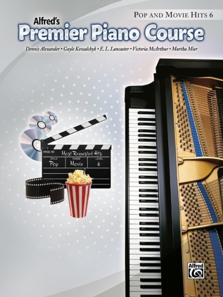 View larger image of Premier Piano Course 6 - Pop And Movie Hits