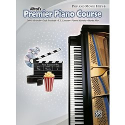 Premier Piano Course 6 - Pop And Movie Hits