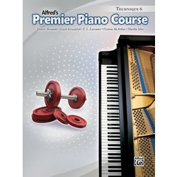 Premier Piano Course 6 - Technique