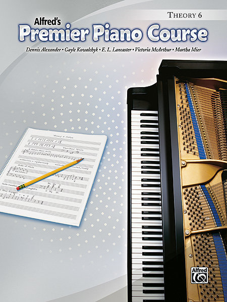 View larger image of Premier Piano Course 6 - Theory