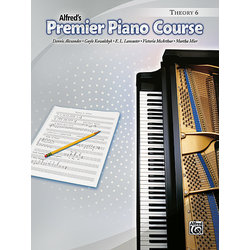 Premier Piano Course 6 - Theory