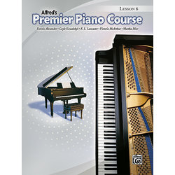 Premier Piano Course 6 - Lesson