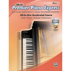 Premier Piano Express - Book 1 w/CD ROM