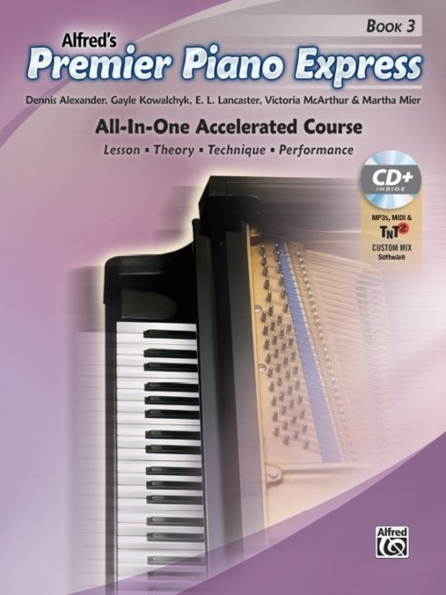 View larger image of Premier Piano Express - Book 3 w/Online Audio