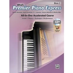 Premier Piano Express - Book 3 w/Online Audio