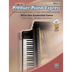 Premier Piano Express - Book 4 w/Online Audio