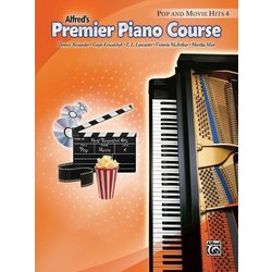 Premier Piano Course 4 - Pop And Movie Hits (RCM 3)