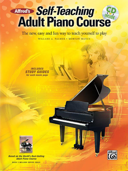 View larger image of Alfred's Self-Teaching Adult Piano Course w/Online Audio