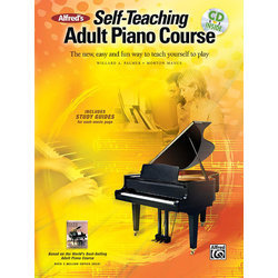 Alfred's Self-Teaching Adult Piano Course w/Online Audio