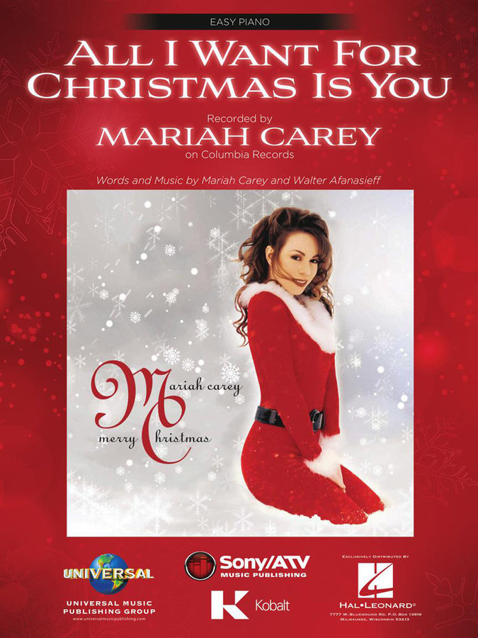 View larger image of Mariah Carey - All I Want for Christmas Is You (EP)