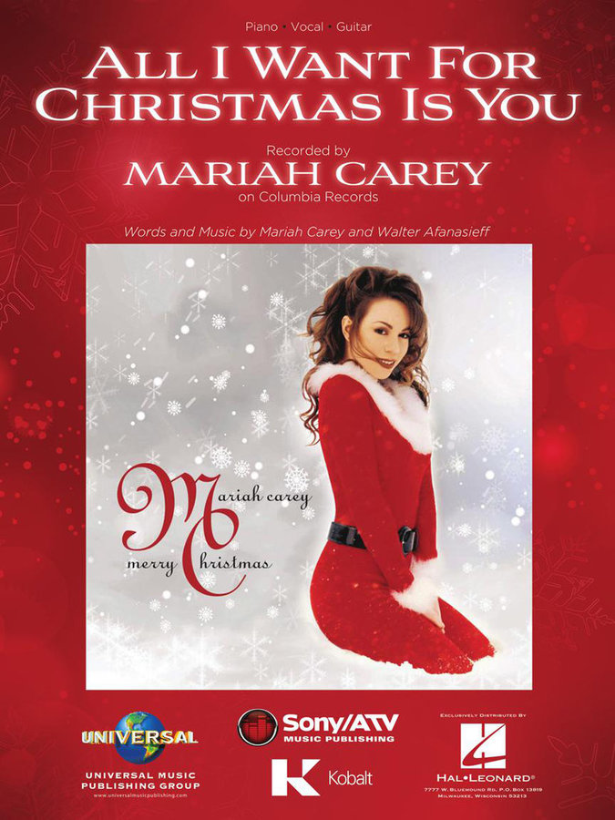 View larger image of Mariah Carey - All I Want for Christmas Is You (PVG)