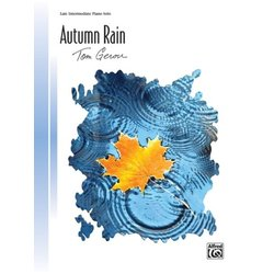 Autumn Rain - Late Intermediate Piano Solo