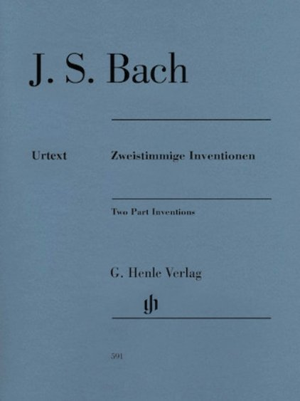 View larger image of Two Part Inventions - Revised Edition (Bach)