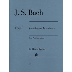 Two Part Inventions - Revised Edition (Bach)