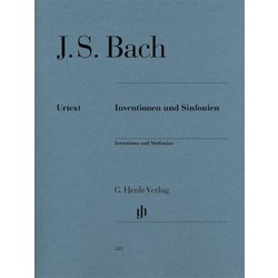 Inventions & Sinfonias - Revised Edition (Bach)