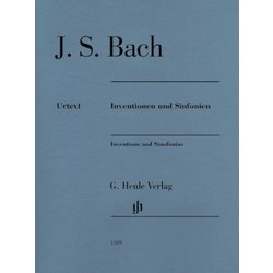 Inventions & Sinfonias - Revised Edition Without Fingerings (Bach)