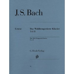 Bach Well Tempered Clavier 2 - Henle Edition