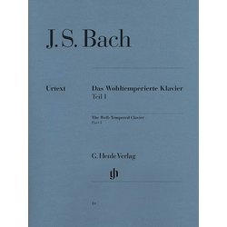 Bach Well Tempered Clavier Part 1 - Henle Edition