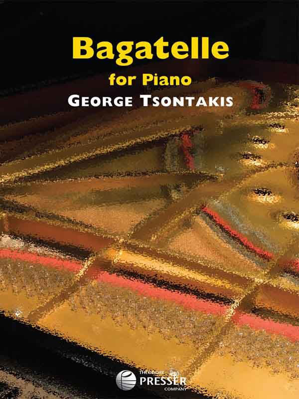View larger image of Bagatelle For Piano - George Tsontakis