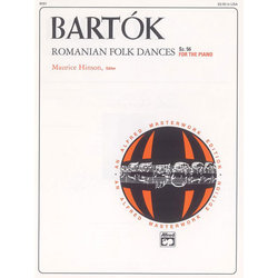 Romanian Folk Dances, Sz.56 for the Piano (Bartok)