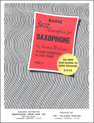View larger image of Basic Jazz Conception for Saxophone Vol.1 w/CD