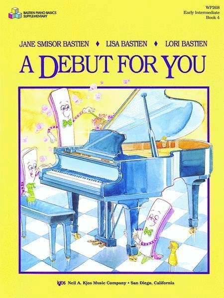 View larger image of A Debut for You, Bastien Piano - Book 4