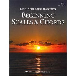 Beginning Scales and Chords, Book 2 (Bastien)