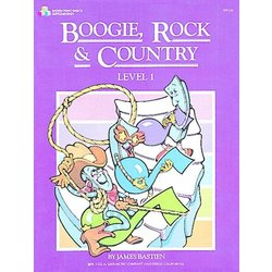 Boogie, Rock and Country, Bastien Level 1