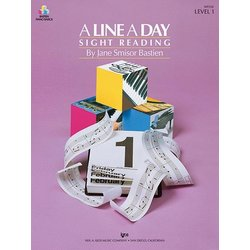 A Line a Day Sight Reading, Level 1 (Bastien)