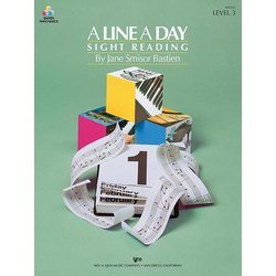A Line a Day Sight Reading, Level 3 (Bastien)