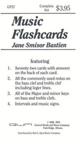View larger image of Bastien Music Flashcards