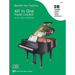 Bastien New Traditions All In One Piano Course - Level 3B