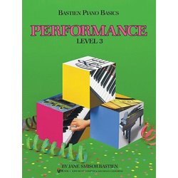 Bastien Piano Basics 3 - Performance