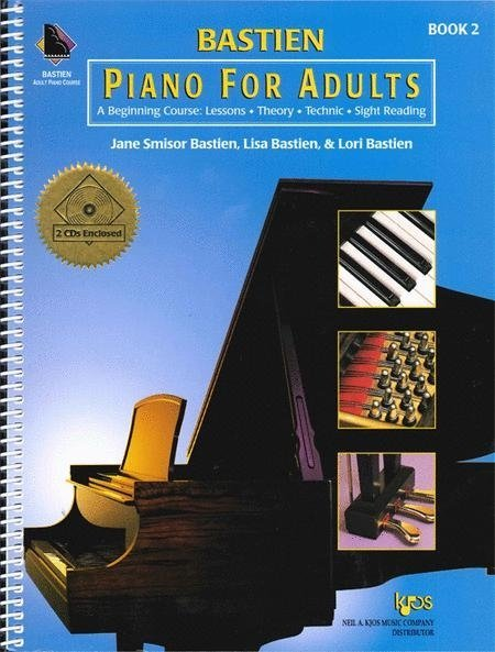 View larger image of Bastien Piano For Adults - Book 2 w/2CD