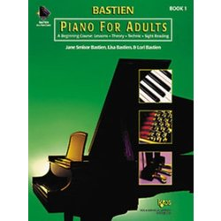 Bastien Piano For Adults - Book 1