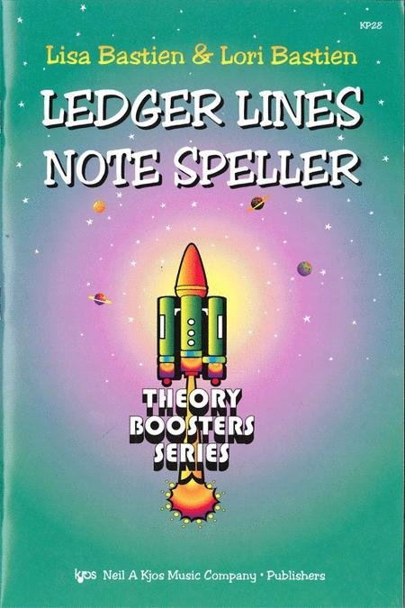 View larger image of Bastien Theory Boosters - Ledger Lines