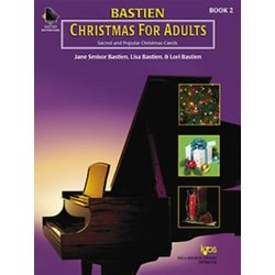 Bastien Piano For Adults - Christmas, Book 2 w/CD
