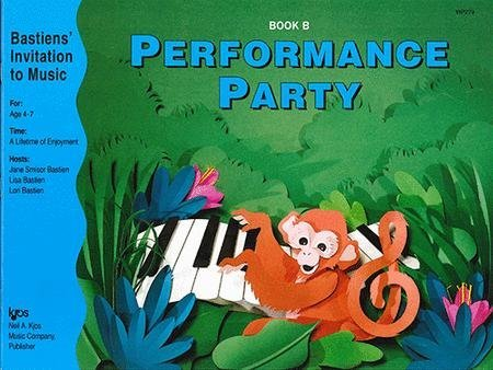 View larger image of Performance Party Book B (Bastiens Invitation To Music)