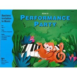 Performance Party Book B (Bastiens Invitation To Music)
