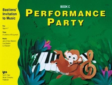 View larger image of Performance Party Book C (Bastiens Invitation To Music)